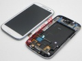 Γνήσια οθόνη Samsung Galaxy S3 i9300 White LCD Display Touch Unit Digitazer σε λευκό χρώμα