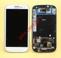 Original LCD Display set Samsung GT Galaxy S III i9305 LTE White