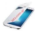 Original S-View EF-CI950BWE Samsung Leather Case for Galaxy S4 (i9500) White (EU Blister)