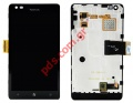 Complete set (OEM) Nokia Lumia 900 (Front Cover, Display, Touch Screen, Display Glass).