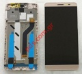Complete set LCD (OEM) Coolpad MAX A8 Gold
