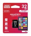 Κάρτα μνήμης microSDHC GOODRAM 32GB Class 10 UHS-I Flash Card speed 60 MB/s.