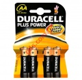 Μπαταρίες αλκαλικές DURACELL AA LR6 Plus power Pack 4pcs Blister