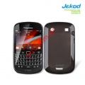 Θήκη Jekod TPU Gel BlackBerry 9900 Bold Touch Black