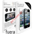 Εξωτερικό φιλμ προστασίας iPhone 5S, iPhone 5C New Clear Transpex Screen Protector by fuera (High Quality in premium box blister)