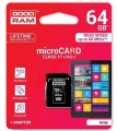 Memory card MicroSD Goodram 64GB (BLISTER) MICRO SDXC CLASS 10 + ADAPTER