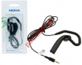 Γνήσια mono ακουστικά Headset Nokia WH-201 Boom type Black (Blister)