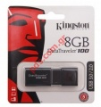 Μνήμη αποθήκευσης Kingston 8GB DT100G3 USB 3.0/2.0 DataTraveler Micro flash stick BLISTER