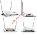 Ασύρματο Router TP-LINK TL-MR3420 3G/4G WiFi USB Modem WPA WAN Back up BOX