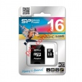 Κάρτα μνήμης MicroSD Silicon Power 16GB C10 UHS-I U1 BLISTER