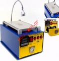 Συσκευή διαχωρισμού τζαμιών YX-989 Repair preheater system Separate LCD glass tool machine with UV Lamp