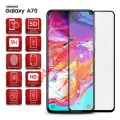 Tempered glass film Samsung Galaxy A70 (2019) (SM-A705F) Full glue Black.