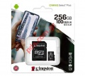 Κάρτα μνήμης Kingston SDCS/256GB MicroSD Class 10 UHS-I HD Speeds Up to 80 MB/s Read (SD Adapter Included) Canvas Select
