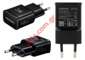 Original Samsung USB Adaptor Samsung EP-TA200EBE Black Travel Charger (Bulk) FAST CHARGER