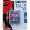 Κάρτα μνήμης secure digital 16GB SDHC CLASS 4 (KINGSTON) BLISTER