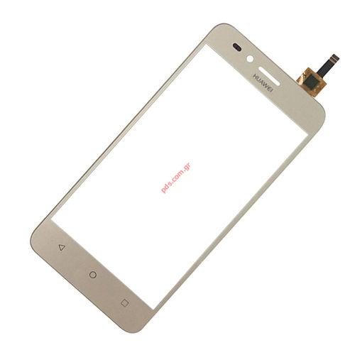 External glass (OEM) Gold Huawei Y3 ii 2016 (4G LTE VERSION ONLY